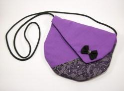 Sac asymétrique Aria violet