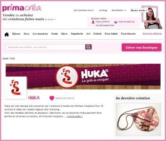 HuKa sur PrimaCréa