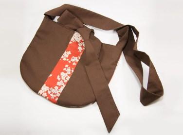 Nouveauté : Le sac Hukkaido marron et rouge