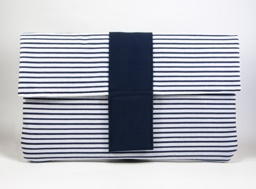 Longue pochette marinière – In the Navy