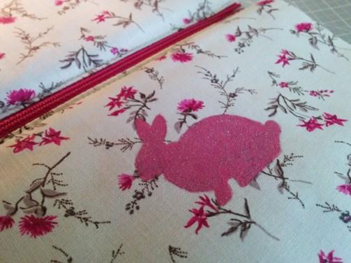 Huka (à) la demande # 12 : la pochette lapin