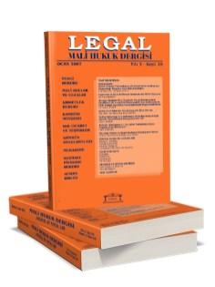 Legal Mali Hukuk Dergisi