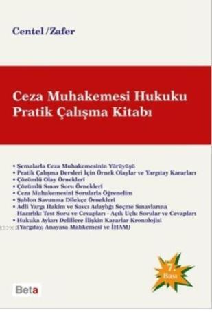 Ceza-Muhakemesi-Hukuku-Pratik-Çalışma-Kitabı-Centel-Zafer