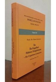 Ahmet Rona-Serozan- Borçlar Hukuk Genel Hükümler
