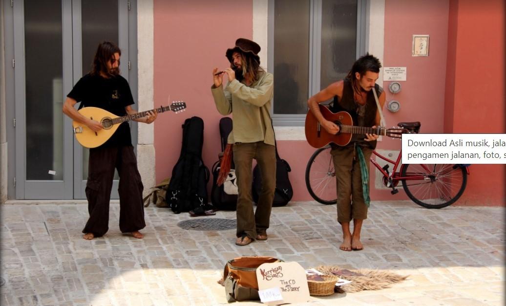 Pemusik jalanan-Produk Kreatif dan Kewirausahaan
