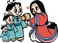 日本昔話 12月<福娘童話集>