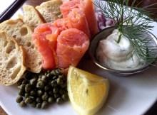 Santiago's Bodega Salmon Carpaccio