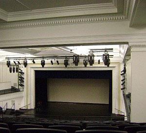 resized Helen Foley stage - American School & University Outstanding Designs