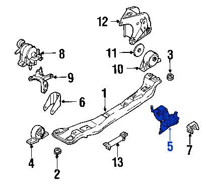 Soporte de Transmisión Automático Nissan Sentra Almera