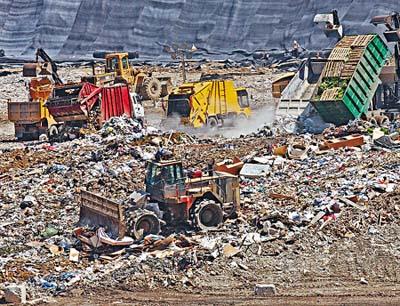 如何處理垃圾?   huliyang
