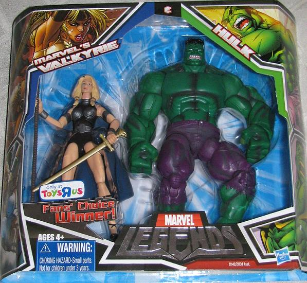 Marvel Legends Hulk Amp Valkyrie 2 Pack 2010 Ratchets