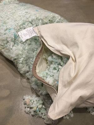 memory foam pieces pillow online