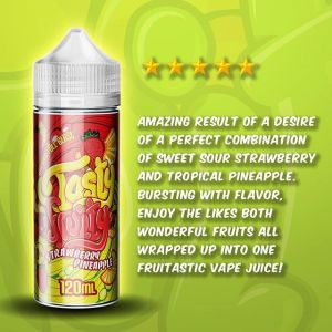 Tasty Fruity Strawberry Pineapple