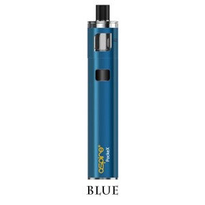 Aspire PockeX Blue Hulme Vapes