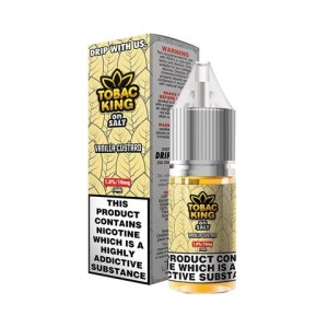 Tobac King Salt Vanilla Custard 10ml