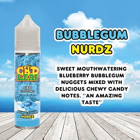 Bubblegum Nurdz by CBD LEAF 50ml