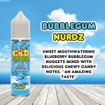 Bubblegum Nurdz by CBD LEAF 50ml