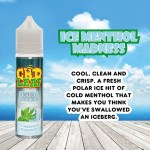 Ice Menthol Madness by CBD LEAF 50ml