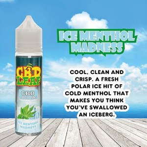 Ice Menthol Madness by CBD LEAF 50ml