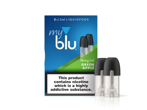 myblu™ Liquidpod Green Apple Flavour