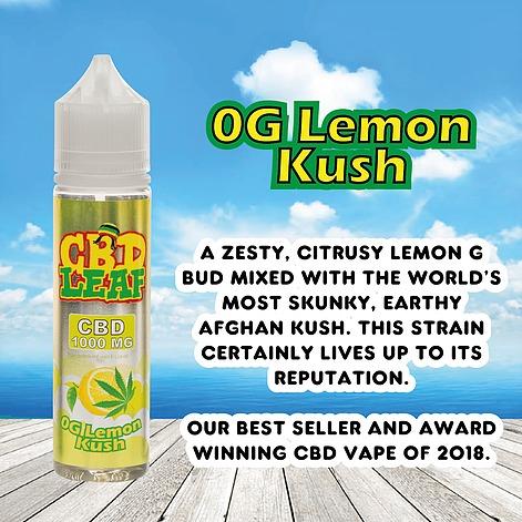 OG Lemon Kush by CBD LEAF 50ml