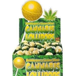 Cannabis Lollipops - Bubble x Lemon Haze