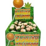 Cannabis Lollipops -Bubblegum x Orange Bud