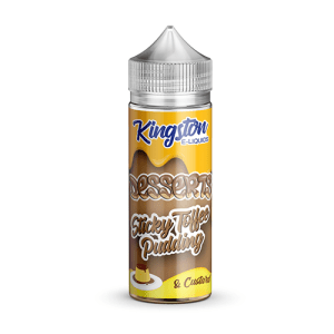 Sticky Toffee Pudding by Kingston Eliquids