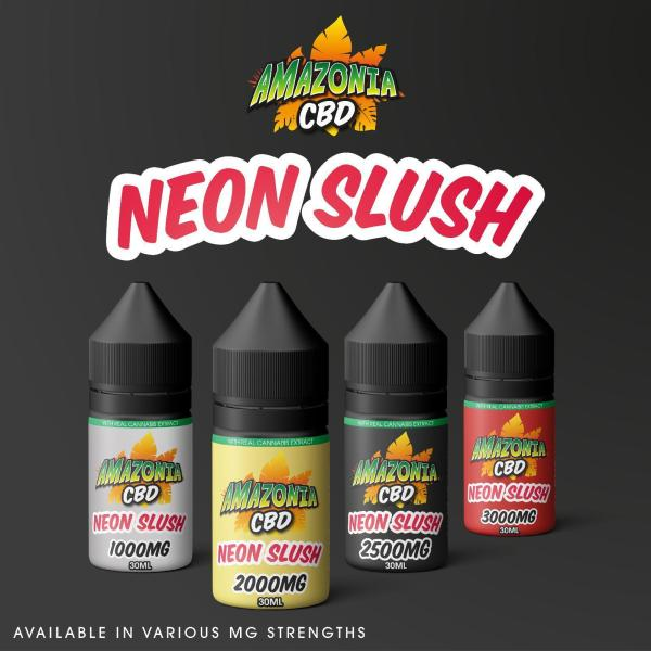 Neon Slush by Amazonia CBD 30ml