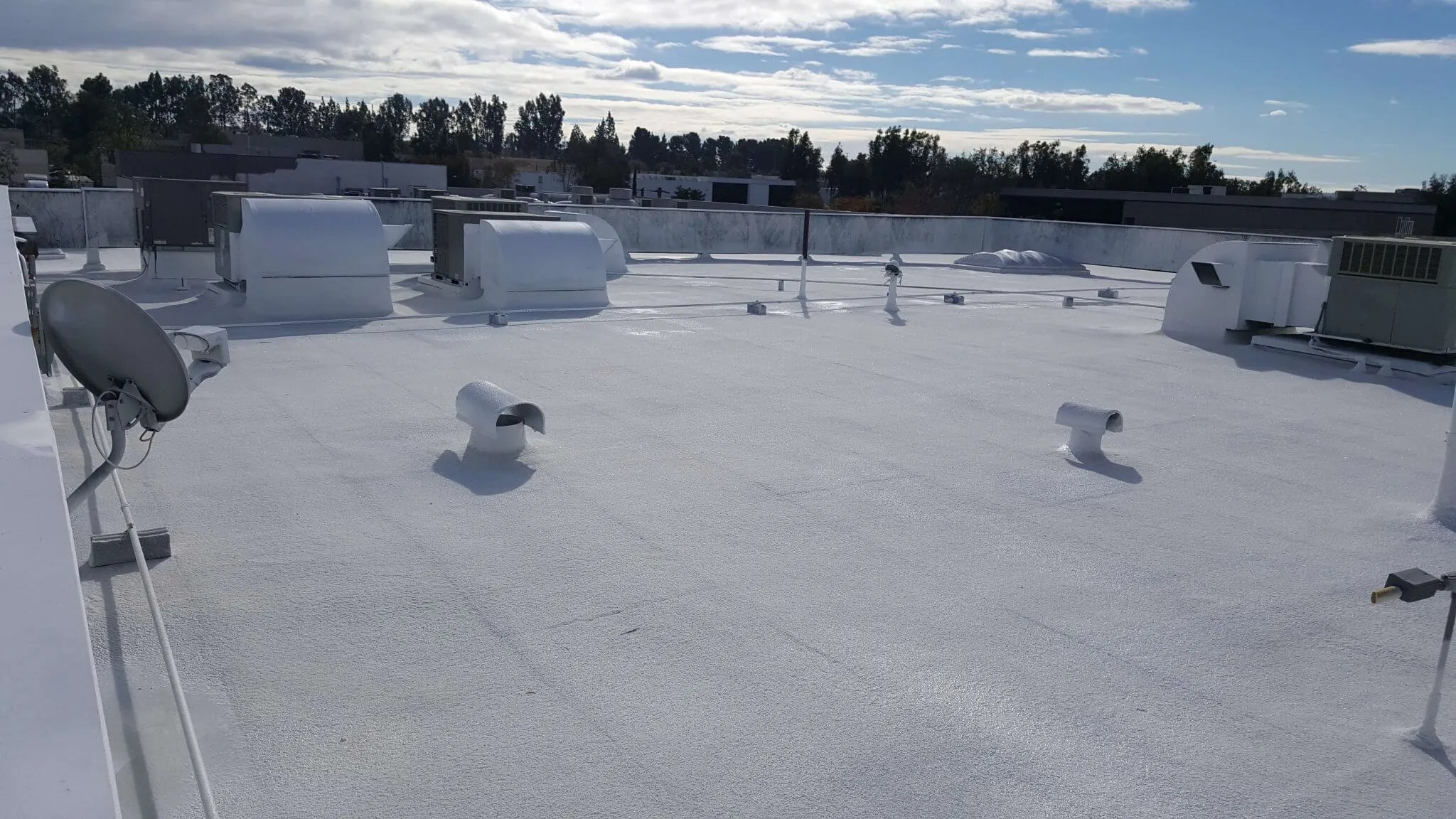 ... Hulsey Contracting Inc Spray Foam Roofing Services After