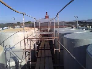 3. wine tanks maintenance