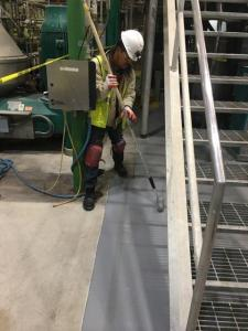 Hulsey Contracting Inc Floor Resurfacing Job 209