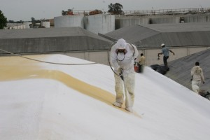 Hulsey Contracting Inc Spray Foam Roofing Process
