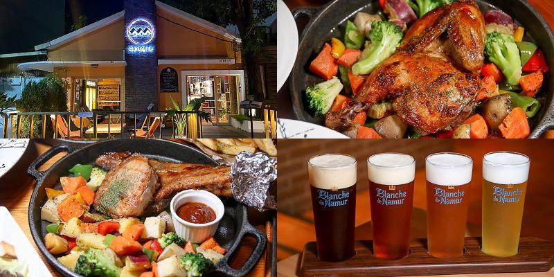 台南美食聚餐「沃野18 OhYeah18」質感超讚的餐酒館,台式結合義式的創意美味!麻油雞燉飯,戰斧豬推薦必點|精釀啤酒|