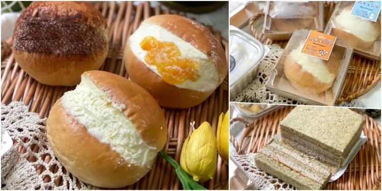 美食推薦「奧瑪烘焙」今年最紅的爆餡羅馬生乳包!生乳餡料結合生吐司的滑順口感,獨家新品口味牛奶糖,鐵觀音茶韻香超級滿足。