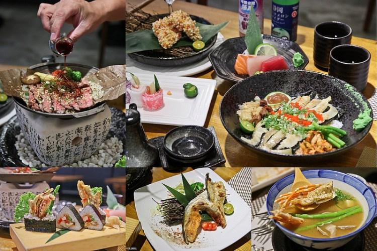 高雄美食  平價人氣日式丼飯!無菜單料理上市~「森一丼飯。壽司」高雄丼飯|日料|壽司|