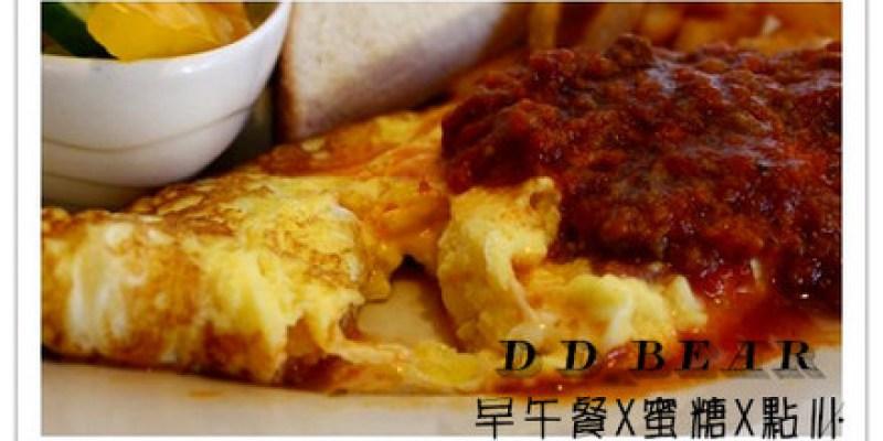 台南中西區 早午餐X蜜糖X點心【D.D. BEAR】原HAPPY BEAR 花草鄉村廚房