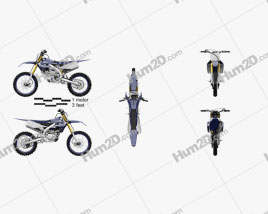 Motorcycle ClipArt Images and Blueprints for Download in