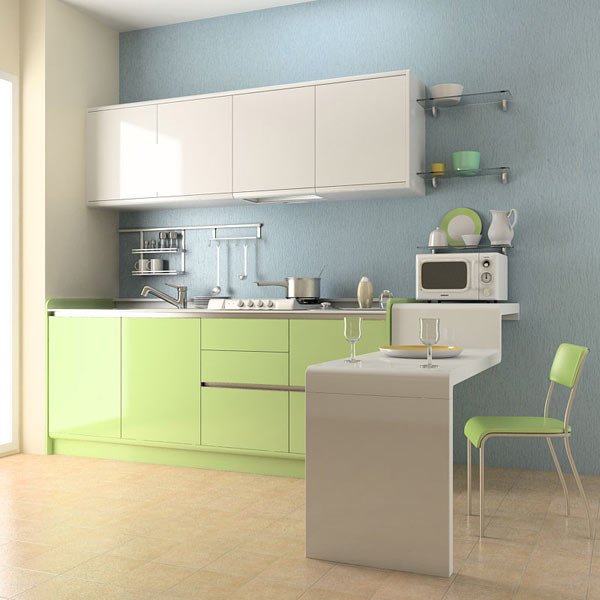 kitchen set decorating a large wall 03 3d model furniture on hum3d