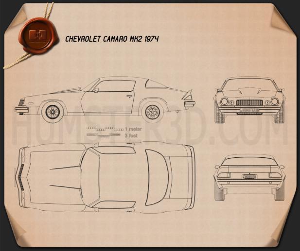 Chevrolet Camaro Blueprint