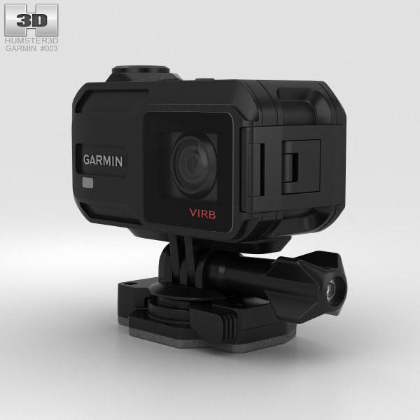 Garmin VIRB XE 3D model - Hum3D