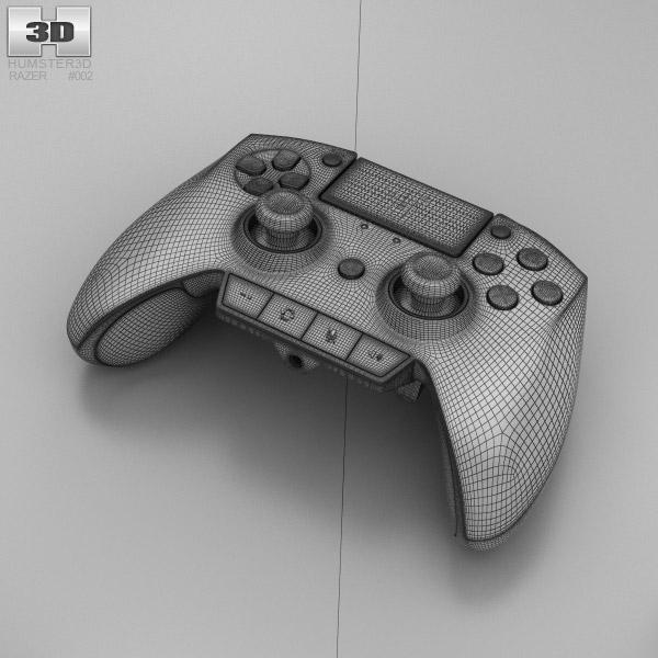 Razer Raiju Gaming Controller 3D Model Hum3D
