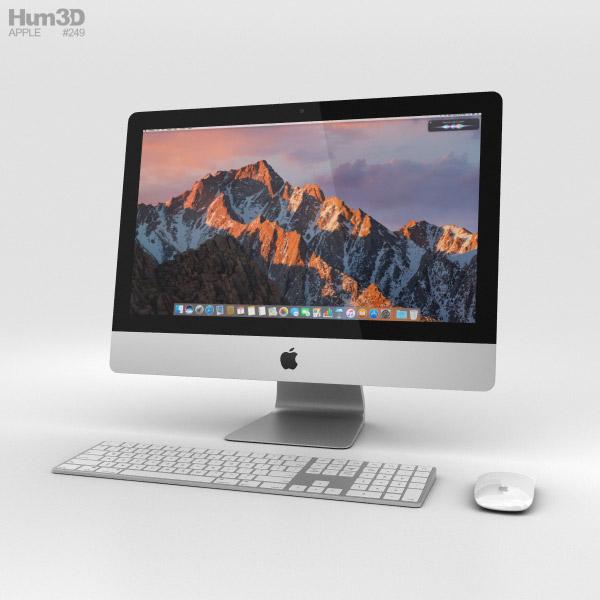 Apple iMac 21.5-inch (2017) 3D model - Electronics on Hum3D