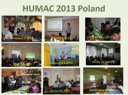 HUMAC 2013 Poland