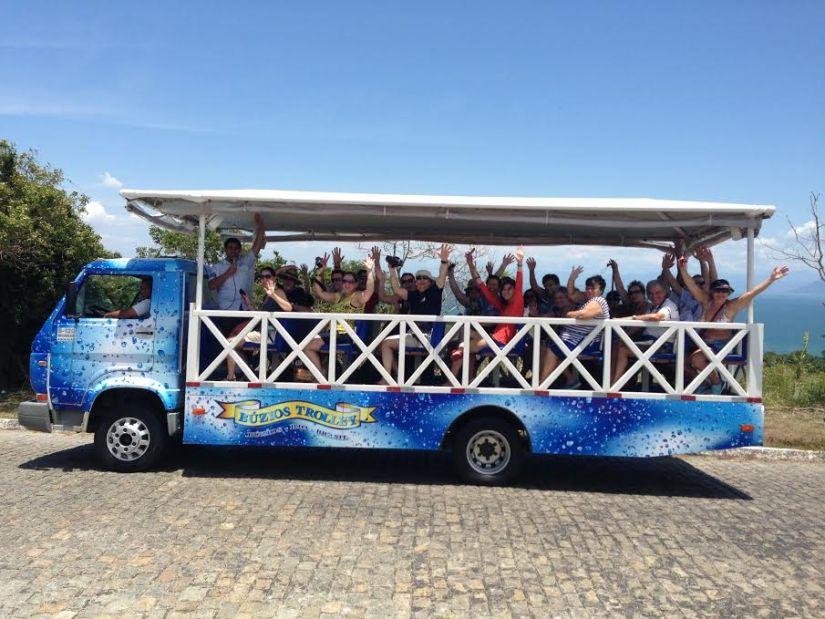 City tour trolley buzios