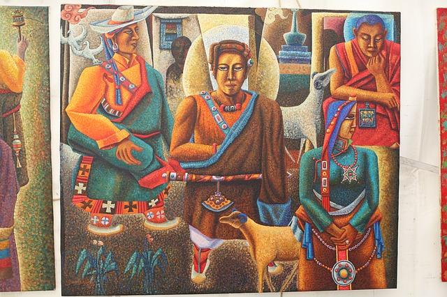 Тибетские монахи. Культура Гималаев