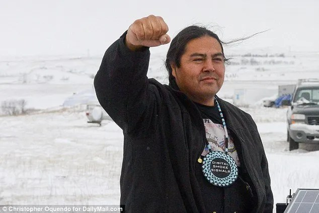 Activist, filmmaker and educator Myron Dewey joins Standing Rock Panel