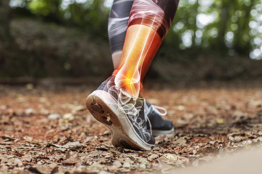 Laufen und Knochen