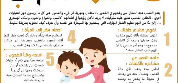 الاعلام الانساني 7طرق لاحتواء طفلك عند الغضب