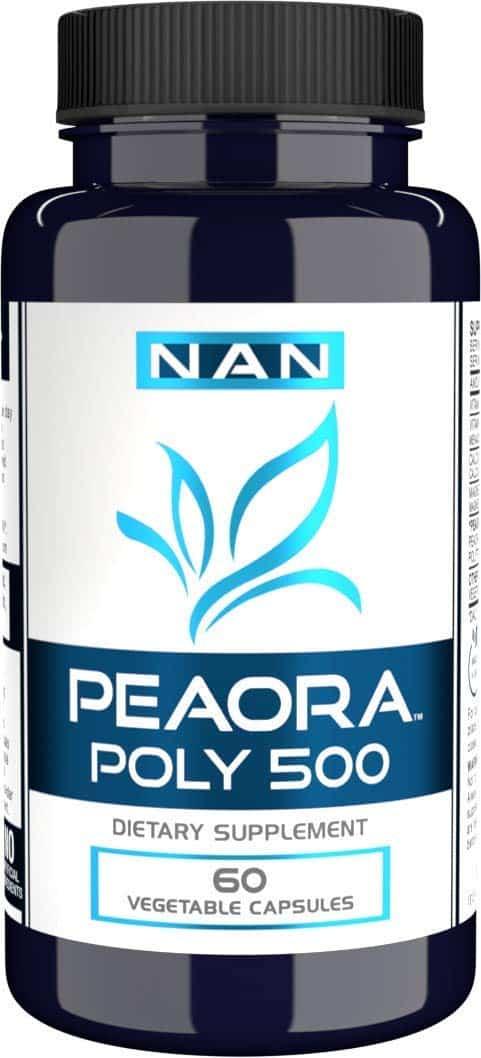 PEAORA POLY 500TM Palmitoylethanolamide Trans Resveratrol